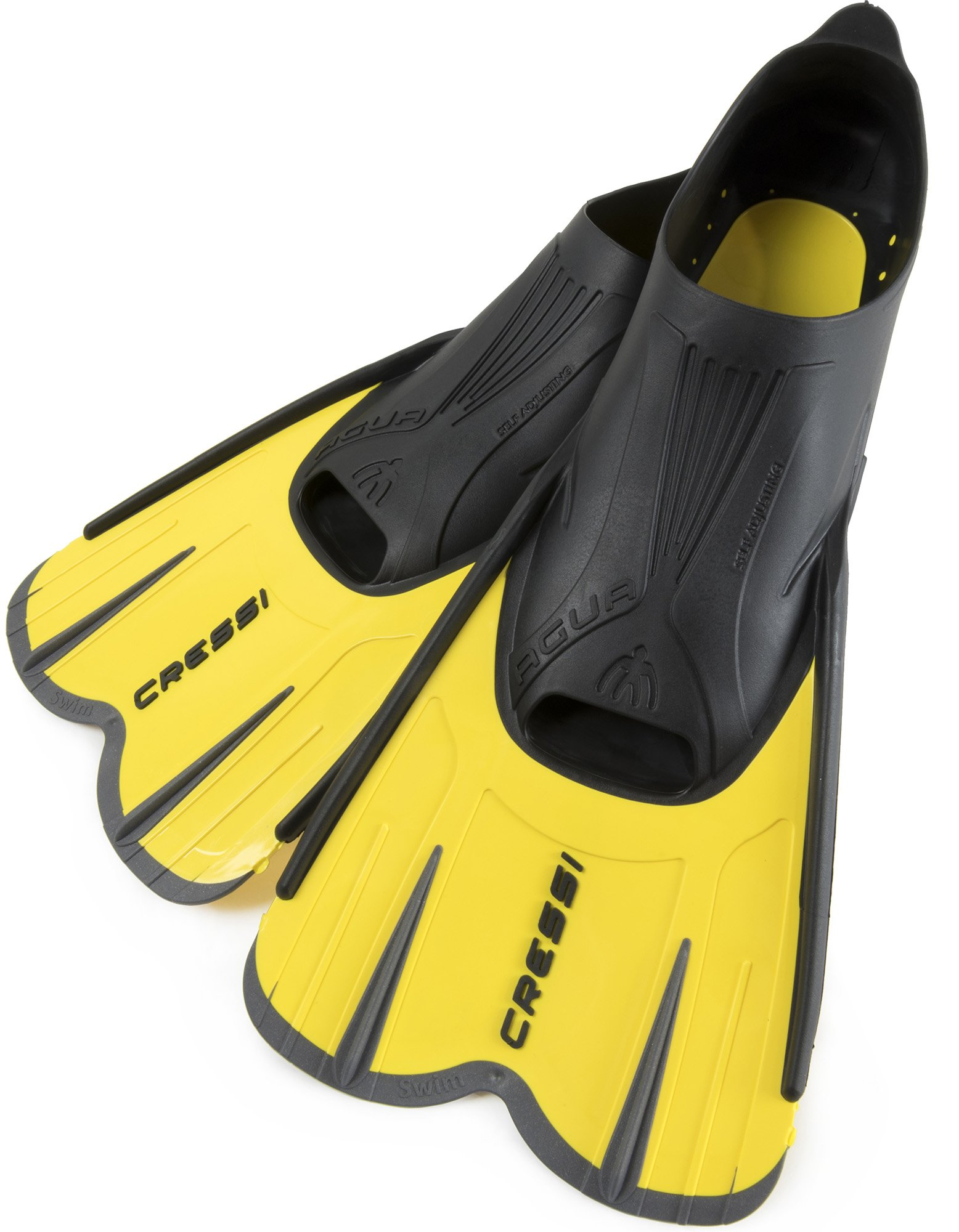 Cressi Agua, yellow/black, 41/42