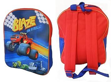 Nickelodeon - Blaze BLZ-8114 - Mochila medidas 32x25x10 cm: Amazon.es: Juguetes y juegos
