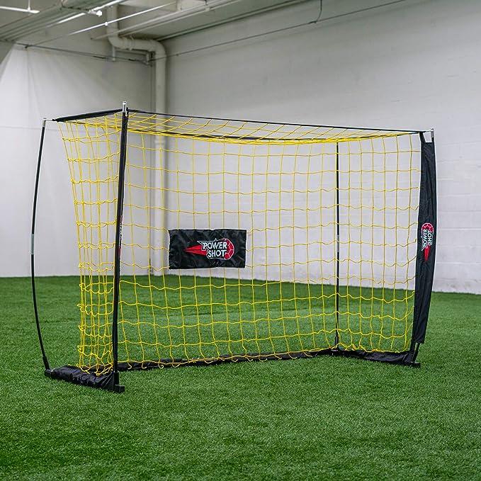 Kids Portable Folding Football Soccer Goal Training w// V2A4 Bag Net Carry P6W3