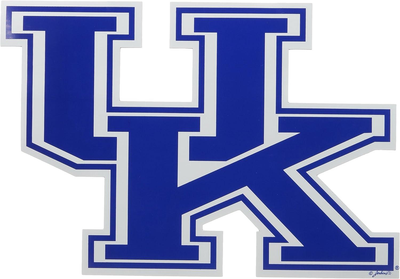 Large, 2 Pack NCAA Kentucky Wildcats Car Magnet UK