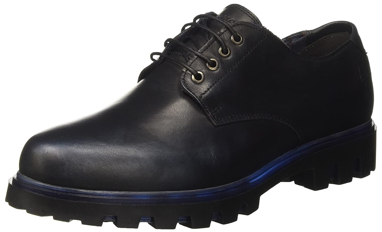 U.S.POLO ASSN. Sue, Nero Chaussures à U.S.POLO Lacets Femme (Black/Blue) Nero (Black/Blue) 4c8121c - gis9ma7le.space