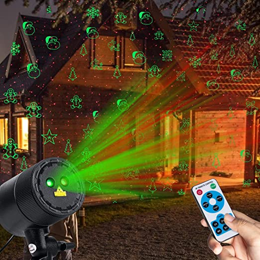 Amazon.com: Minetom Luces de proyector de Navidad, proyector ...