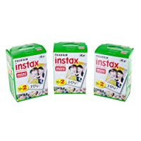 Fujifilm Instax Mini Film Bundle Pack (60 Aufnahmen)