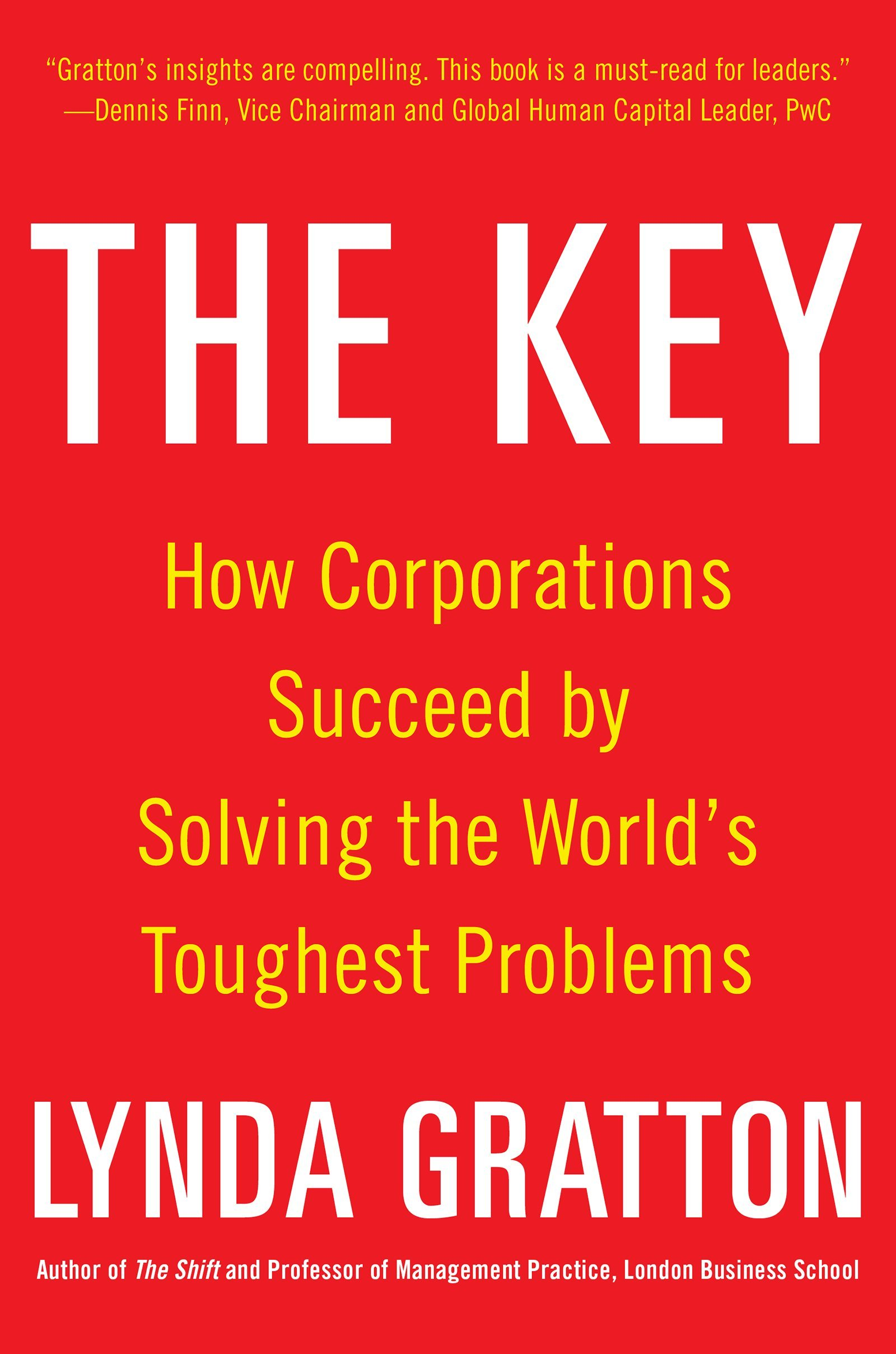 Read Online The Key: How Corporations Succeed by Solving the World's Toughest Problems pdf epub