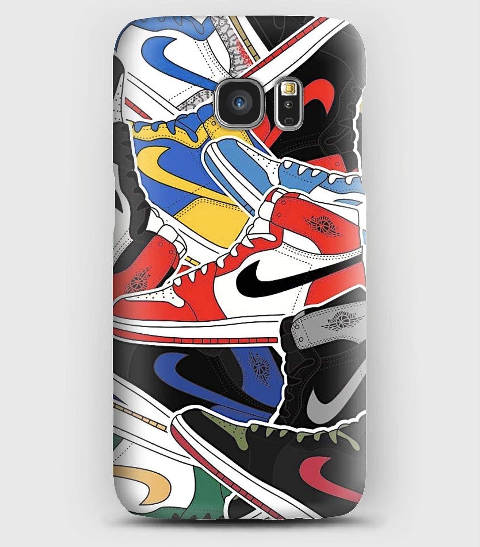 Mes Nike coque pour Samsung S6, S7, S8, S9, A3, A5, A7,A8, J3, J5, Note 4, 5, 8,9, Grand prime,