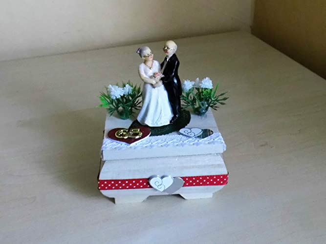 Eiserne Hochzeit 65 Jahre Ehe Geschenk Amazon De Handmade