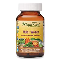 MegaFood, Multi for Women, Supports Optimal Health and Wellbeing, Multivitamin and...