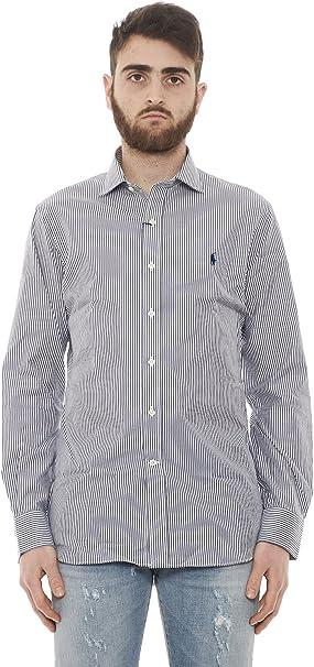 Polo Ralph Lauren - Camisa Casual - Rayas - Manga Larga - para ...