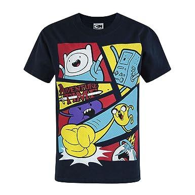 Adventure Time Jungen Official Charakter Design T Shirt Amazon De
