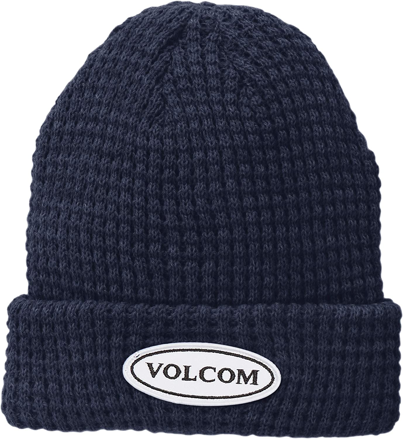 Volcom Mens Hard Core in 94 Waffle Knit Beanie