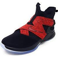 Nike Lebron Soldier XII - Zapatillas de Baloncesto para Hombre, Negro, 12 M US