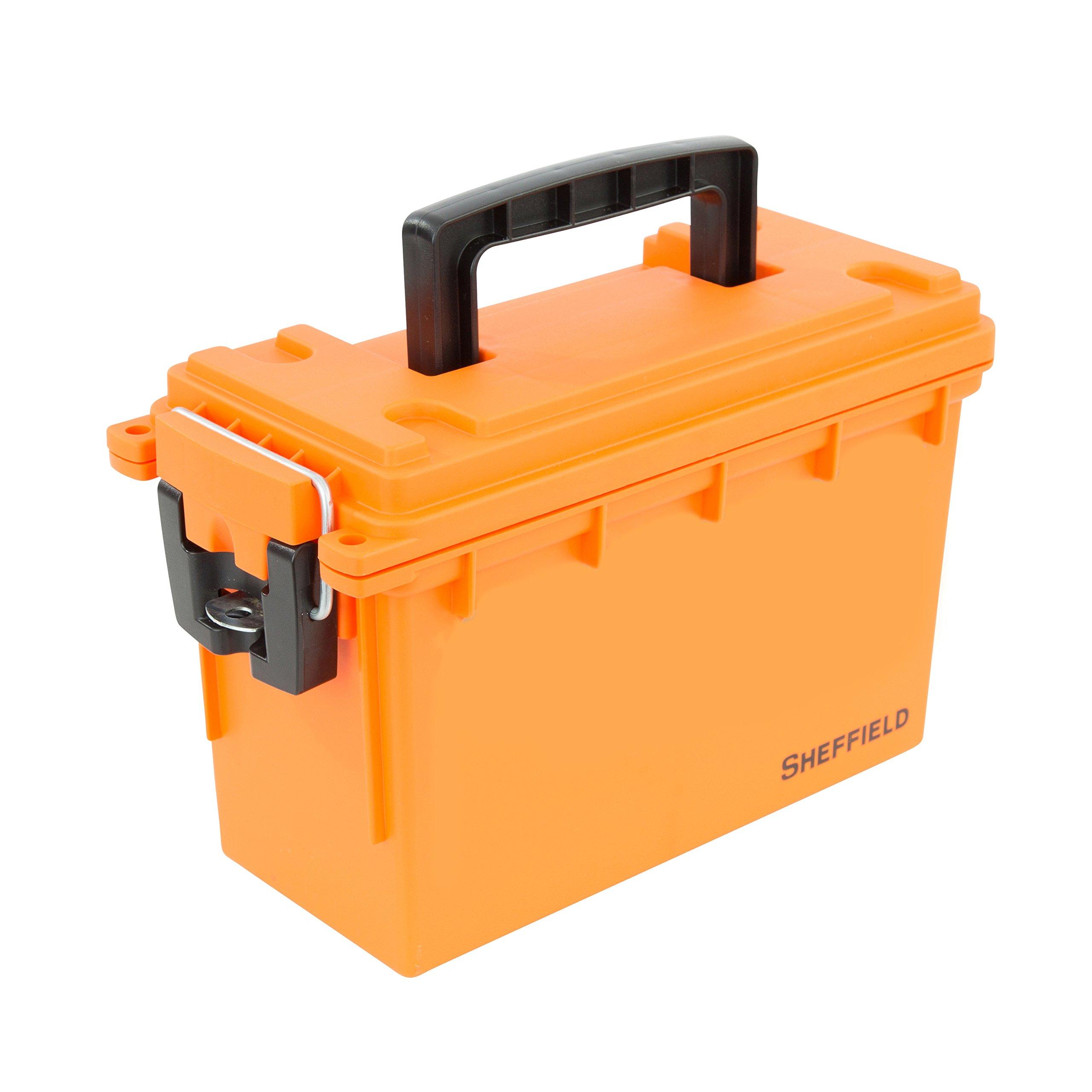 Sheffield 12630 Field Box- Orange
