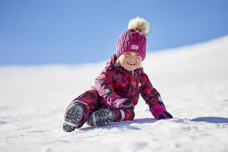 LEGO Wear Kids Knitted Snow Beanie with 3M Scotchlite Reflector and Pom Pom