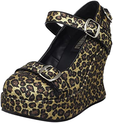 Demonia BRAVO 10G Cheetah GLTR UK 39) 6 (EU 39) UK  Amazon   Schuhe ... 2e385b