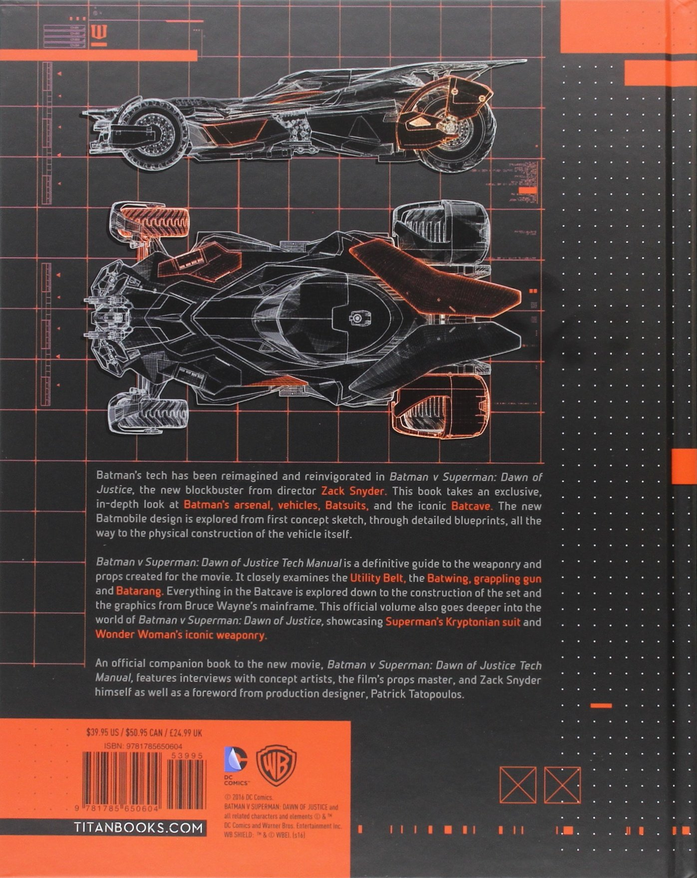 Batman V Superman Dawn of Justice Tech Manual: Amazon.it: Adam ...