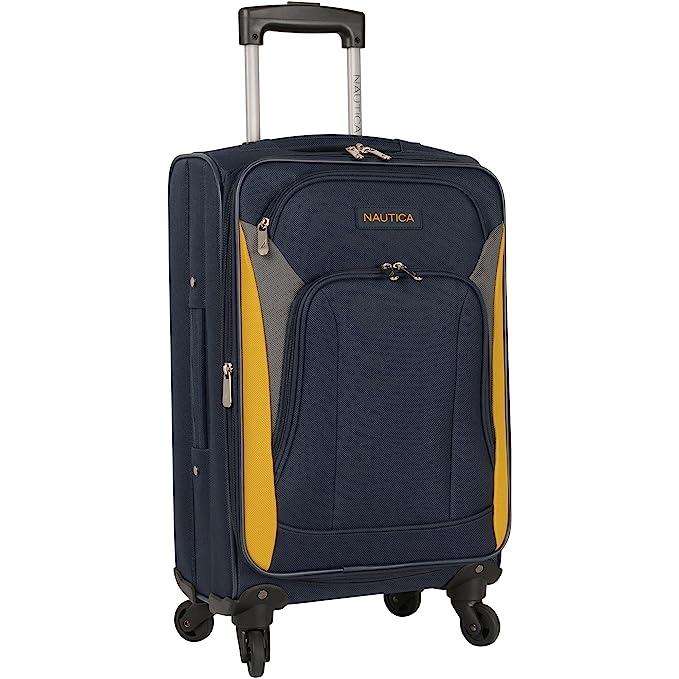 Amazon.com: Nautica - Juego de equipaje de 5 piezas, ligero ...