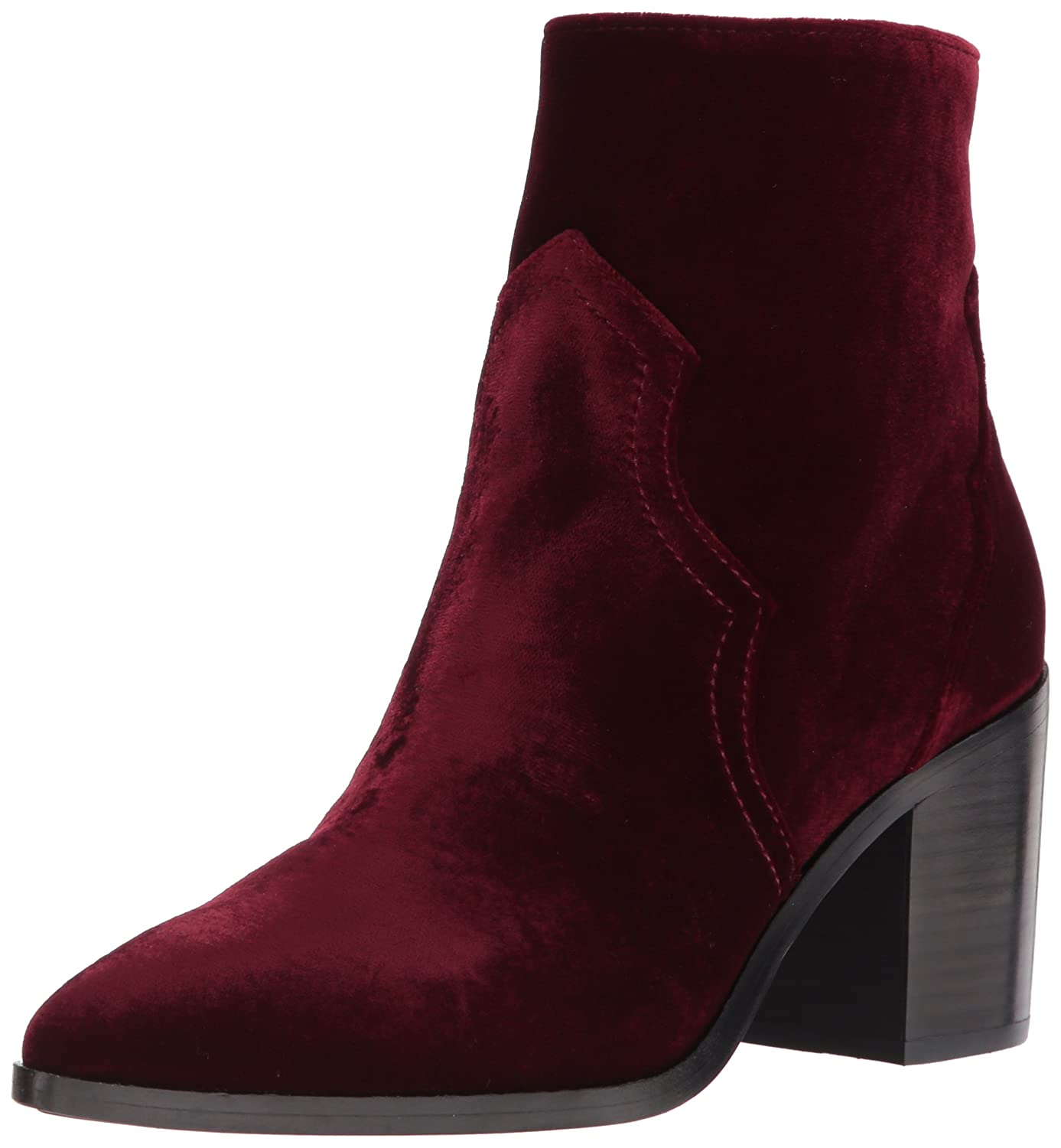FRYE Women's Flynn Short Inside Zip Ankle Bootie B01N4X6H67 9.5 B(M) US|Wine