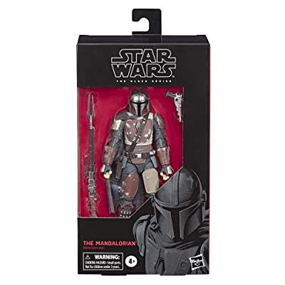 """Star Wars The Black Series The Mandalorian Toy 6"""" Scale Collectible Action Figure, Toys for Kids Ages 4 & Up: Toys & Games"""