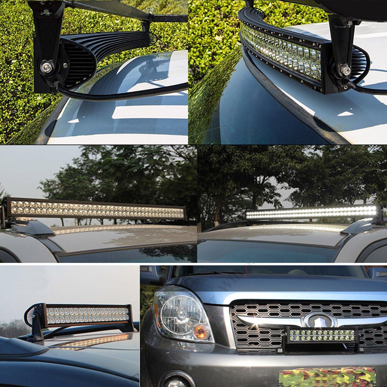 Auxtings 127/cm 288/W faretto LED luce di lavoro bar fuori strada camion SUV 4/WD guida fari