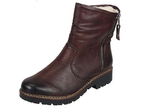 Rieker Damenschuhe Z4541 Damen Stiefel, Schlupfstiefel, Boots