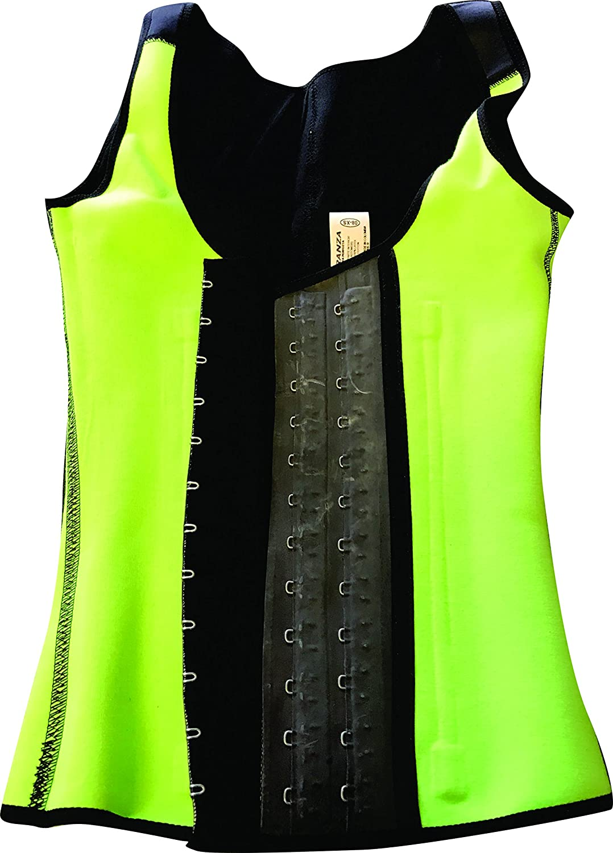 Fajas Colombianas Latex ARANZA Womens Colombian Latex Sports Waist Cincher Vest