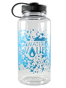 watervault 1 litro botella de agua boca ancha - reutilizable ...