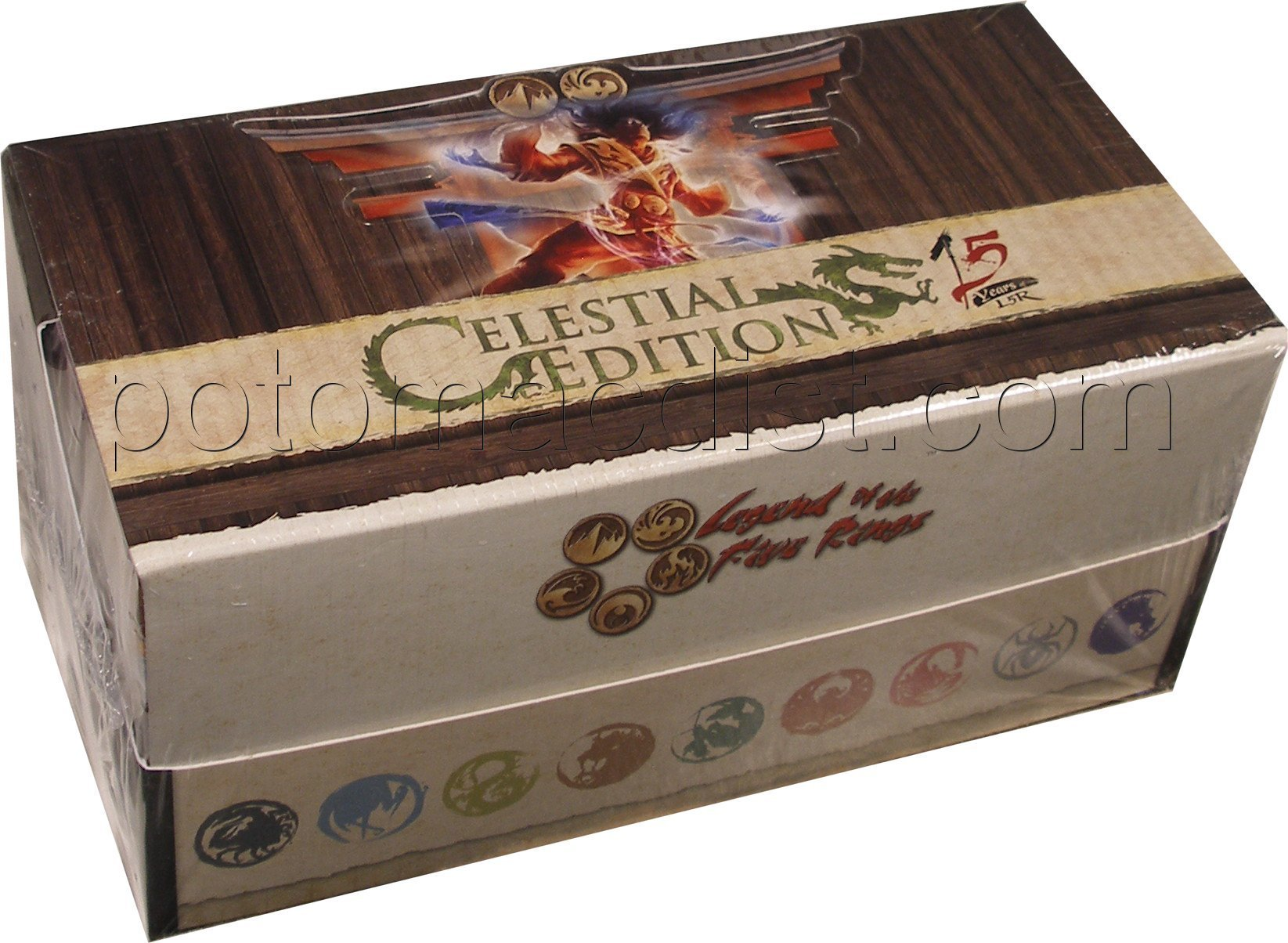 Legend Of The 5 Rings Card Game - Celestial Edition 15th Anniv Starter Box