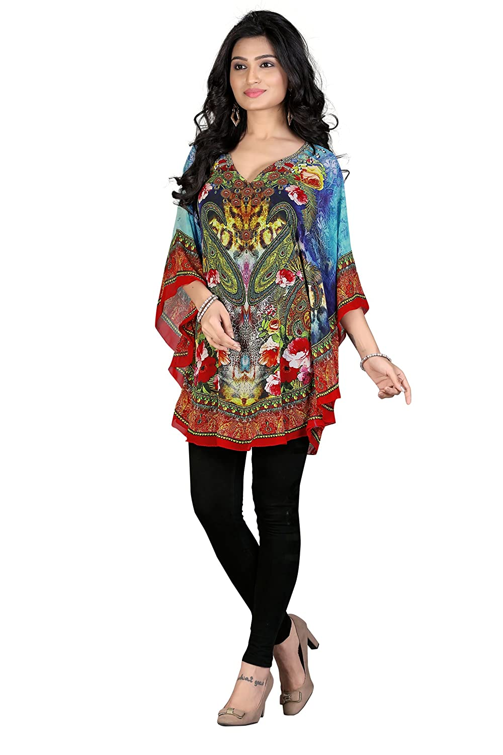 Women's Poly Georgette kaftan