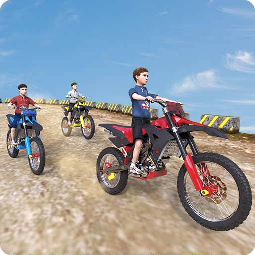 Kids Bike Racing Simulator
