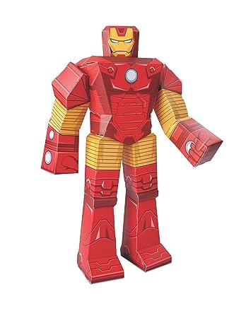 Marvel blueprint paper craft 12 figure iron man amazon marvel blueprint paper craft 12quot malvernweather Images