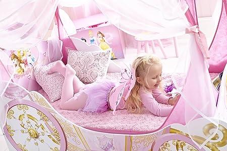 Fantastisch Kleinkinderbett Für Mädchen Im Kutschendesign Von Disney Prinzessin, Mit  Baldachin: Amazon.de: Küche U0026 Haushalt