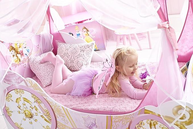 Kleinkinderbett Für Mädchen Im Kutschendesign Von Disney Prinzessin, Mit  Baldachin: Amazon.de: Küche U0026 Haushalt