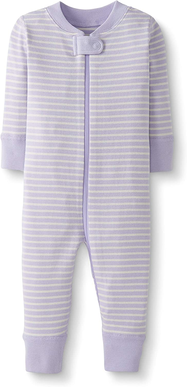 Moon and Back by Hanna Andersson Pyjama sans pied en coton bio pour tout-petits b/éb/és