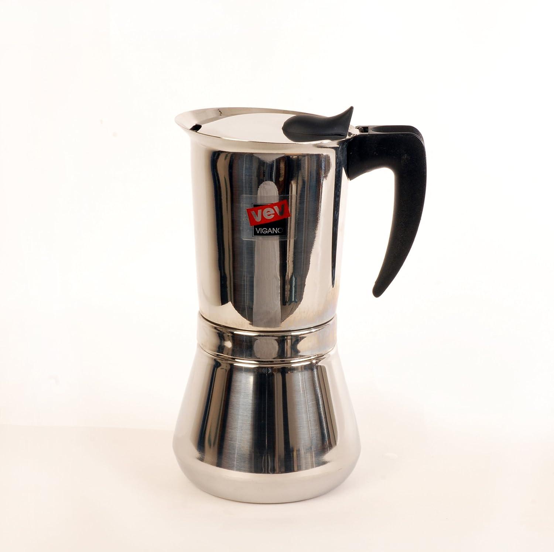 Vev Vigano Vespress Black Handle 12-cup Coffee Pot 8114 by Vev Vigano: Amazon.es