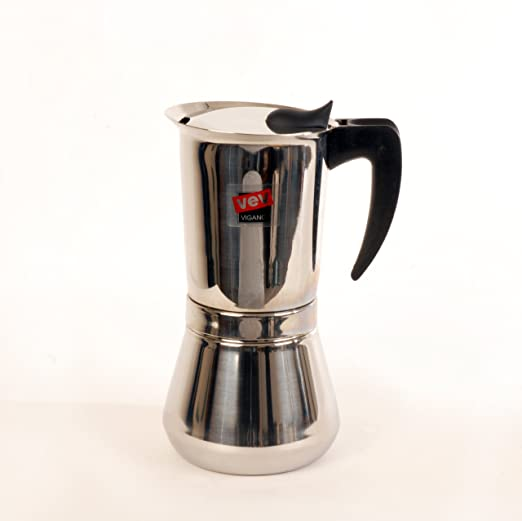 Vev Vigano Vespress Black Handle 12-cup Coffee Pot 8114 by Vev Vigano: Amazon.es