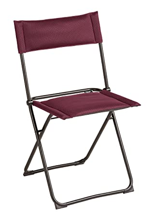 Lafuma Chaise pliante compacte, Terrasse, balcon et jardin ...