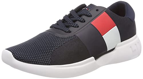 f5c312c380ab Tommy Hilfiger s Lightweight Mens Runner Low-Top Sneakers  Amazon.co ...