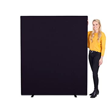 Panelwarehouse 1500 x 1800 mm Woolmix Fabric Office Screen/Room ...