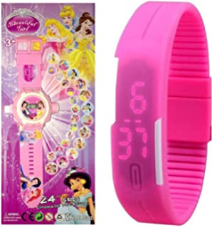 Pappi Boss Beautiful Girl - Kids Special Toys - Pack of 2 - Girl Projector Band