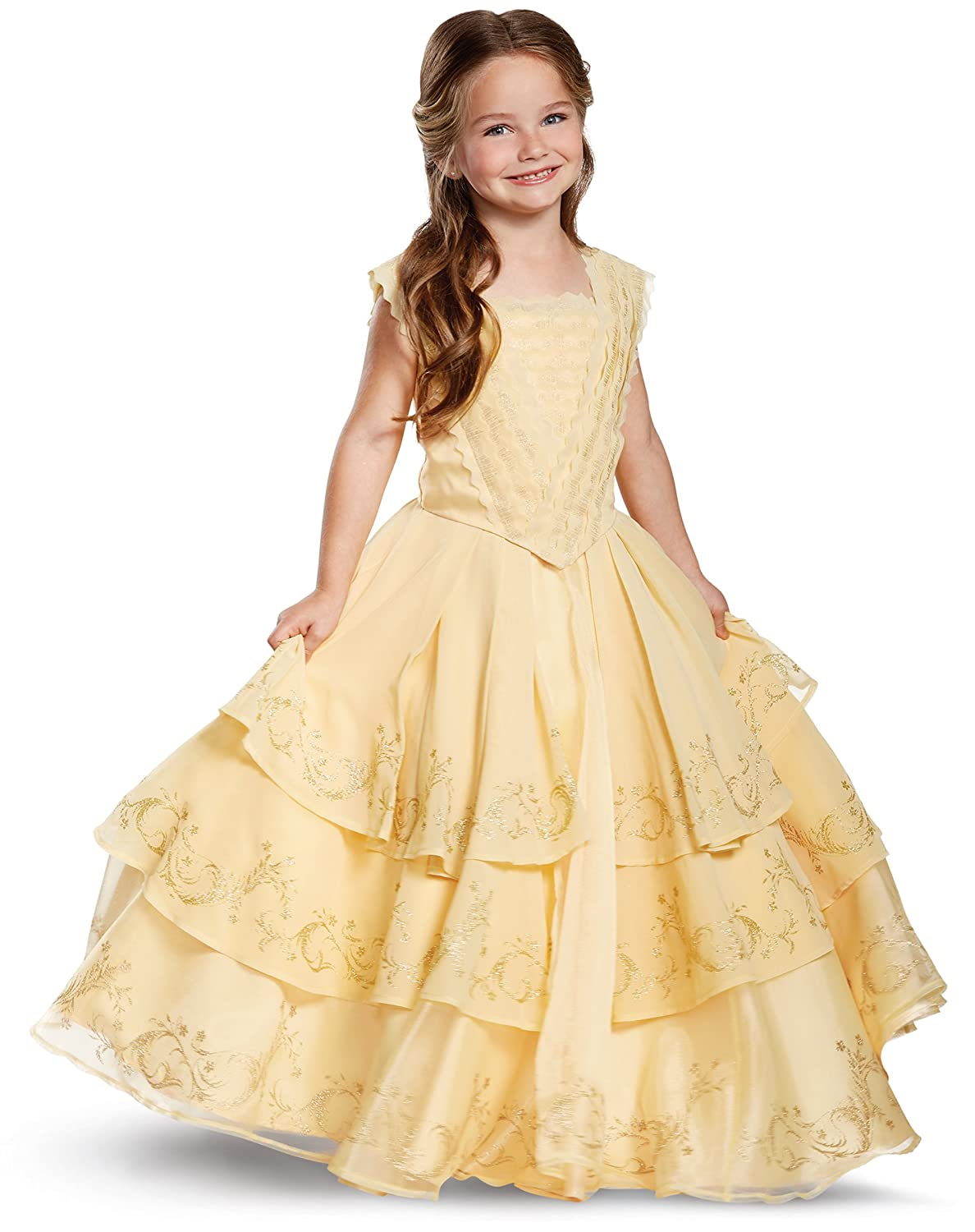 Spirit Halloween Kids Belle Costume The Signature Collection , Beauty and  The Beast