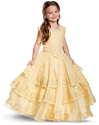 spirit halloween kids belle costume the signature collection beauty and the beast
