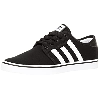 online store 7f596 00875 adidas Seeley Core Black Running White Gum  Amazon.co.uk  Shoes   Bags