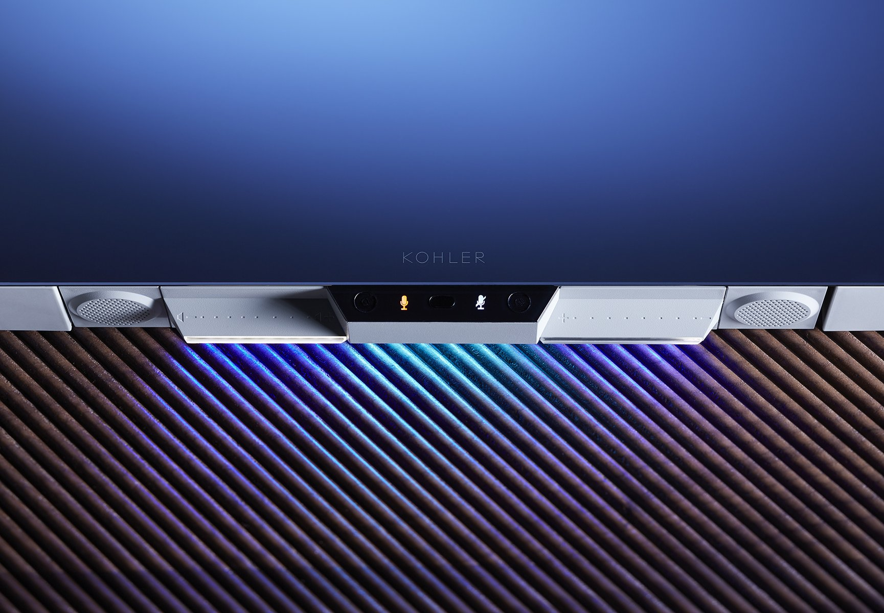 KOHLER 99573-VLAN-NA Verdera Voice 40 in. x 33 in. Lighted Mirror- Works with Alexa by Kohler (Image #4)