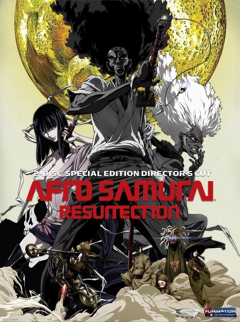 Afro Samurai: Resurrection [Reino Unido] [DVD]: Amazon.es ...