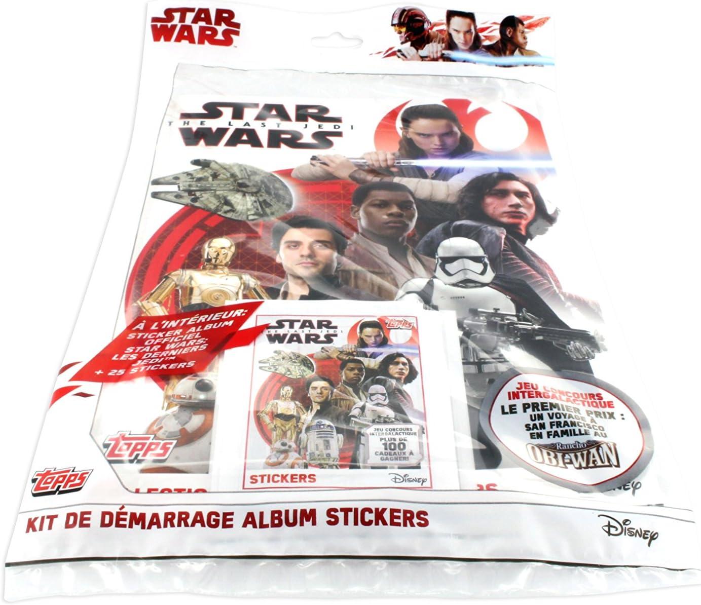 Topps-sticker 4-Star Wars-Les derniers Jedi