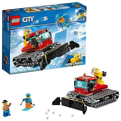 Amazoncom Lego City Great Vehicles Snow Groomer 60222 Building Kit