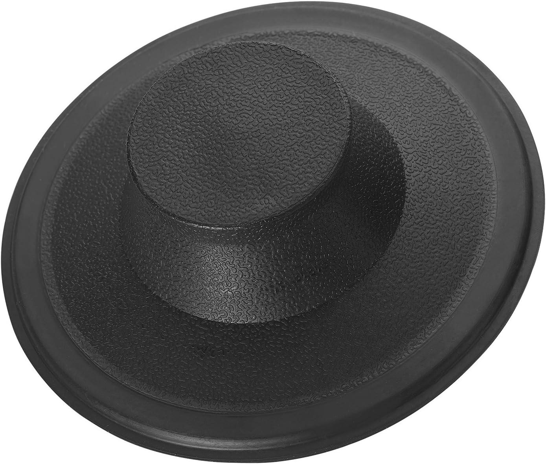 InSinkErator STP-PL Sink Stopper for Garbage Disposals, Black - Single Bowl Sinks -