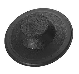 InSinkEratorSTP-PL Sink Stopper for Garbage Disposals, Black