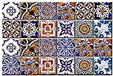 Mi Alma Tile Stickers 24 PC Set Authentic