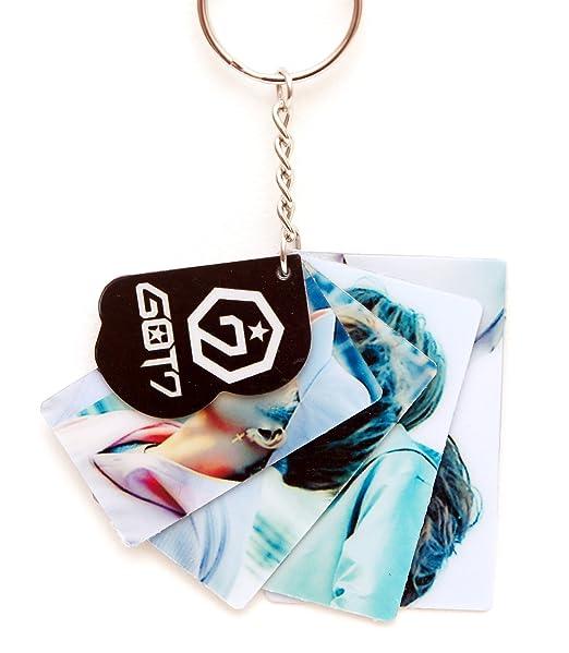 K-Pop Got7 clave Anillo llavero: Amazon.es: Hogar